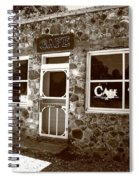 Route 66 Cafe 8 Spiral Notebook