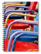 Route 66 Chairs Spiral Notebook