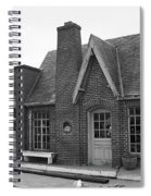 Route 66 - Chandler Oklahoma Gas Station Spiral Notebook