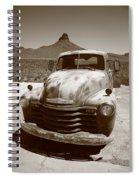 Route 66 - Classic Chevy Spiral Notebook
