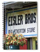 Route 66 - Eisler Brothers Old Riverton Store Spiral Notebook