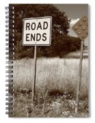 Route 66 - End Of The Road Spiral Notebook