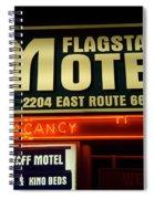 Route 66 Flagstaff Motel Spiral Notebook