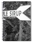 Route 66 - Funk's Grove Sirup Spiral Notebook