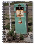 Route 66 Gas Pump - Adrian Texas Spiral Notebook