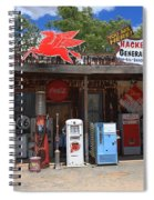 Route 66 - Hackberry General Store Spiral Notebook