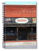 Route 66 - Hardware Store Erick Oklahoma Spiral Notebook