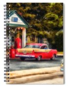 Route 66 Historic Texaco Gas Station Spiral Notebook