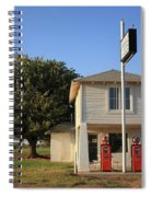 Route 66 - Lucilles Gas Station Spiral Notebook