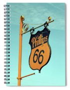 Route 66 - Mclean Texas Spiral Notebook
