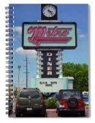 Route 66 - Metro Diner Spiral Notebook