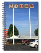 Route 66 - Munger Moss Motel Spiral Notebook