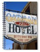 Route 66 - Oatman Hotel Spiral Notebook