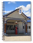 Route 66 - Odell Gas Station 7 Spiral Notebook
