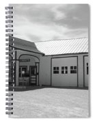 Route 66 - Odell Gas Station Spiral Notebook