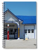 Route 66 Odell Il Gas Station 01 Spiral Notebook