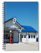 Route 66 Odell Il Gas Station 02 Spiral Notebook