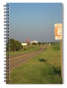 Route 66 - Oklahoma Spiral Notebook