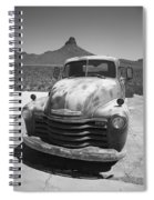 Route 66 - Old Chevy Pickup Spiral Notebook
