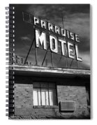 Route 66 - Paradise Motel 2 Spiral Notebook