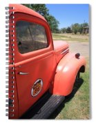 Route 66 Pickup Truck Spiral Notebook