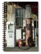 Route 66 Pumps Spiral Notebook