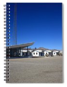 Route 66 - Roy's Cafe Spiral Notebook