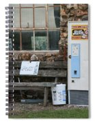 Route 66 Sinclair Gas Station Spiral Notebook