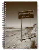 Route 66 - Sitgreaves Pass Spiral Notebook