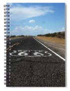 Route 66 Spiral Notebook