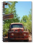 Route 66 Truck Spiral Notebook