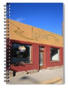 Route 66 - Uranium Cafe Spiral Notebook