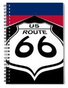 Route 66 - U. S. Spiral Notebook