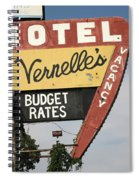 Route 66 - Vernelle's Motel Spiral Notebook