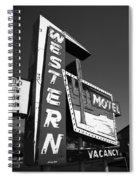 Route 66 - Western Motel 7 Spiral Notebook