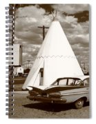 Route 66 - Wigwam Motel 15 Spiral Notebook