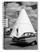 Route 66 - Wigwam Motel 7 Spiral Notebook