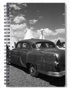 Route 66 Wigwam Motel And Classic Car 5 Spiral Notebook