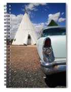 Route 66 Wigwam Motel Spiral Notebook