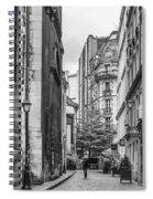 Route Parisian Spiral Notebook