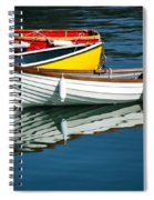 Row-boats Spiral Notebook