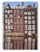Row Houses In Amsterdam Spiral Notebook