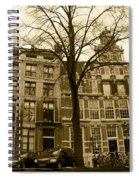 Row Houses Spiral Notebook