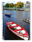 Row Row Row Your Boat Spiral Notebook