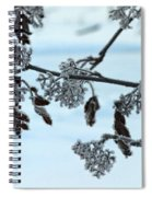 Rowan In Winter Spiral Notebook