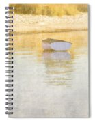 Rowboat In The Summer Sun Spiral Notebook