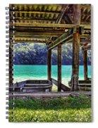 Rowboat Parking Spiral Notebook