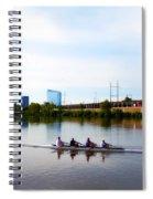 Rowing In Philadelphia Spiral Notebook