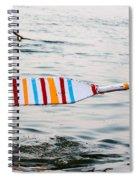 Rowing Oar Spiral Notebook