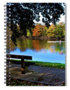 Rowing The River Itchen Spiral Notebook